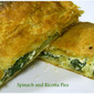 Spinach and Ricotta Pies - Donna Hay