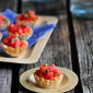 Watermelon, Goat Cheese & Basil Phyllo Bites Recipe