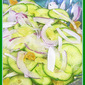 Cucumber Salad with Chrystallized Ginger