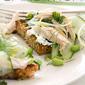Fennel-Edamame Chicken Salad Sandwich: Sqirl Food