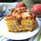 Ina's Fresh Peach Cake