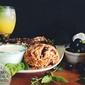 Lamb Souvlaki & Black Olive Orzo