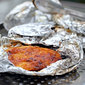 Campfire Foil Dinner: Apricot Dijon Chicken Breast Packets