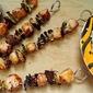 Chicken Yakitori with Shiitakes and Scallions