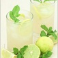 An Easy Non-Alcoholic Or Virgin Mojito With Ginger (Mocktail)