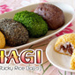 Ohagi / Botamochi (Japanese Sweet Sticky Rice Balls) - Video Recipe