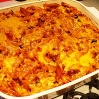 Baked Penne with Vegetables