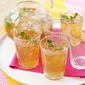 Sparkling Apricot-tea