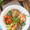 Roasted Sweet Potato Chicken Quinoa Salad