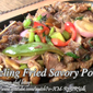 Sizzling Fried Savory Pork