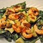 Shrimp, Avocado and Spinach Salad, one cake, two cake….