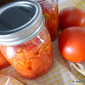 No Cook TOMATO fresh PRESERVES