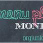 Menu Plan Monday: 17 August