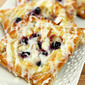 Blueberry Cheese and Almond Danish