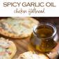 Spicy Garlic Chicken Flatbread