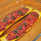 Stuffed Zucchini (Courgette farcies); tired from shopping?