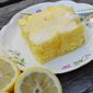 Lemon Poke Cake (without the Pudding)