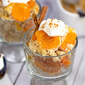 Quick Apricot or Peach Cobbler
