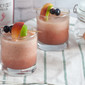Frozen Peach and Mixed Berry Sangria