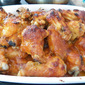 Tailgating Reveal for SRC- Apricot Chicken Wings