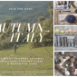 Join the Hunt...Autumn in Italy: Mushroom Hunting + Seasonal Cooking Class