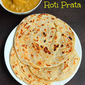 Roti Prata - Singaporean Flat Bread with Vegetarian Curry Sauce