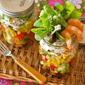 MY BEST Mason Jar Salad (Shrimp Avocado WaFu Salad) - Video Recipe