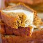 Pumpkin Cheesecake Banana Bread