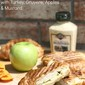 Croissant Panini with Turkey, Gruyere, Apples & Mustard :: 5 Ingredient Meals