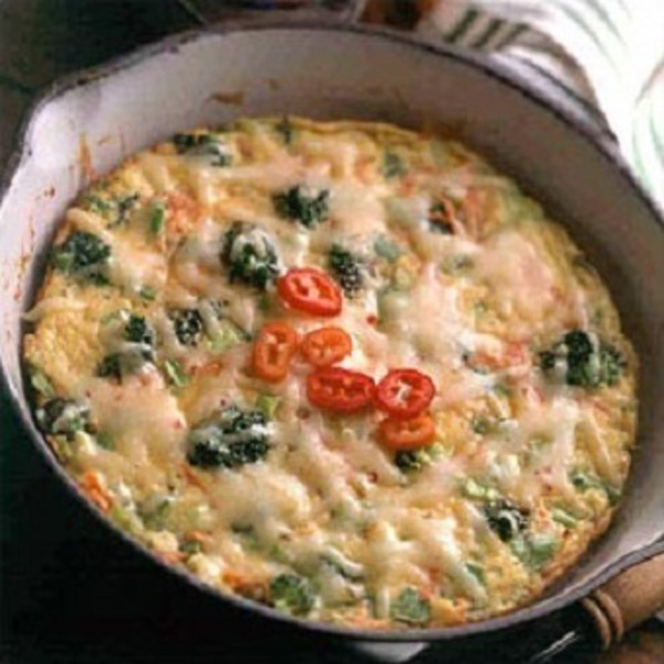 Easy Vegetable Frittata Recipe by Recipe - CookEatShare