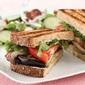 Eggplant-Mushroom Sandwiches