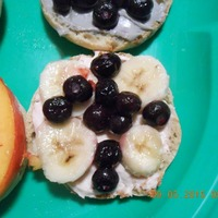 Fruity English Muffin Breakfast Pizza