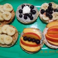 Fruity English Muffin Breakfast Pizza