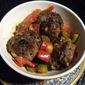 Filipino-style Sweet and Sour Beef Meat Balls