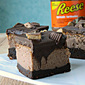 REESE Chocolate Peanut Butter Cheesecake Brownies #DoYouSpoon