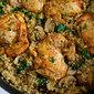 One-Pot Chicken, Quinoa, Mushrooms & Spinach Recipe