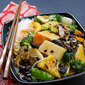 Vegetable Chop Suey with Jicama (Chinese Yam) & Black Beans | Vegan / Vegetarian Recipe