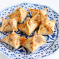 Baked Tart Cherry & Cream Cheese Wontons Recipe