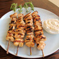Boneless Chicken Skewers