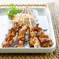 Chicken Satay with Dipping Sauce