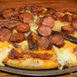 Double Sausage Pizza