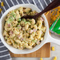 Ultra Creamy Stovetop Mac and Cheese with Broccoli + Ham