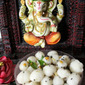 Savoury Modaks for Ganesha   Ammini Kozhukattai