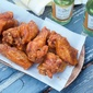 Crispy Maple Hot Wings #SundaySupper