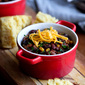 Slow Cooker 3-Bean Vegetarian Chili Recipe