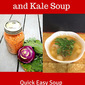 Kohlrabi, Kale, and Lentil Soup
