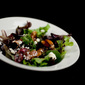 Recipe: Mixed Greens with Cranberries, Apples, Caramelized Walnuts and Fig Balsamic Vinaigrette