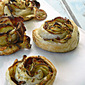 Creamer Potato & Bacon Puff Pastry Rosettes