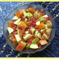Healthy Fruit Salad / Fruit Salad with Honey Yogurt