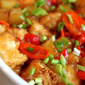 Chinese Fakeout: Baked Sweet and Sour Chicken